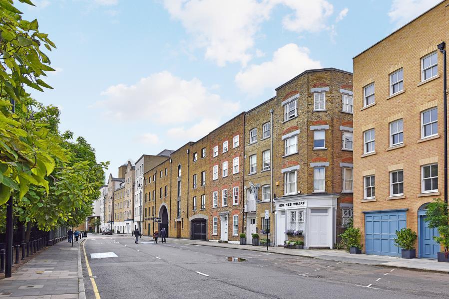 Molines Wharf Narrow Street Limehouse